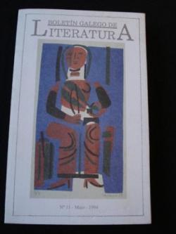 Ver os detalles de:  Boletín Galego de Literatura. Nº 11- Maio 1994