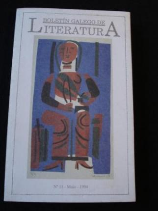 Boletín Galego de Literatura. Nº 11- Maio 1994 - Ver os detalles do produto