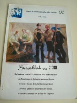 Ver os detalles de:  ARTE GALICIA. Revista de información de las artes plásticas gallegas. Número 16 - Diciembre 1986