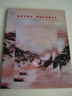 Ver os detalles de:  NOVOS VALORES. Memoria dunha década 1982-1991. Catálogo Exposición Pontevedra, 1992 (Textos en galego-español)