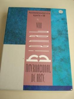 Ver os detalles de:  VIII BIENAL INTERNACIONAL DE ARTE. Catálogo. Pontevedra, agosto, 1988. 2 libros en estoxo