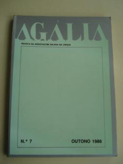 Ver os detalles de:  AGÁLIA. Revista da Associoçom Galega da Língua. Número 7 - Outono, 1986