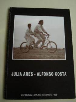 Ver os detalles de:  JULIA ARES - ALFONSO COSTA. Catálogo Exposición Deputación da Coruña, 1989