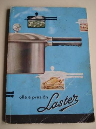 Olla a presión Laster. Libros de Instrucciones de uso y recetario - Ver os detalles do produto