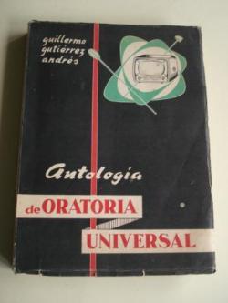 Ver os detalles de:  Antología de Oratoria Universal