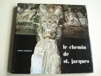 Le chemin de St. Jacques. Textos en francés. Fotografías en color - Ver os detalles do produto