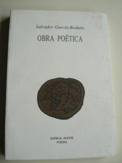 Ver os detalles de:  Obra poética