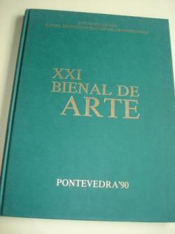 Ver os detalles de:  XXI BIENAL DE ARTE. Pontevedra´90. Catálogo