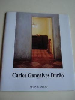 Ver os detalles de:  CARLOS GONÇALVES DURÂO. Catálogo Exposición Casa de Galicia en Madrid, 1996