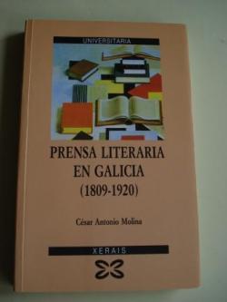 Ver os detalles de:  Prensa literaria en Galicia (1809-1920)