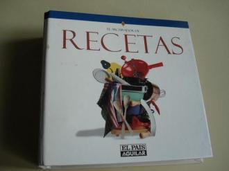 El archivador de recetas El País-Aguilar. 104 recetas de cocina con fotografías. Divididas por las estaciones del año y por platos - Ver os detalles do produto