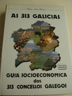 Ver os detalles de:  As 313 Galicias. Guía socioeconómica dos 313 concellos galegos. Edición bilingüe galego-castellano