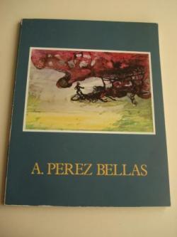 Ver os detalles de:  AGUSTÍN PÉREZ BELLAS. Catálogo Exposición Homenaje. Ayuntamiento de Vigo. Casa de la Cultura, abril, 1983