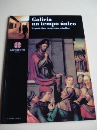 Xacobeo´ 99. Galicia un tempo único. Exposicións, congresos, estudios (Textos en galego) - Ver os detalles do produto