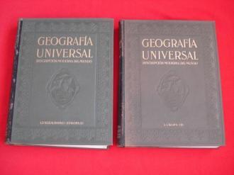 Geografía Universal. Descripción moderna del mundo (2ª edición revisada). Tomo I: Europa - Generalidades / Tomo II: Europa  - Ver los detalles del producto