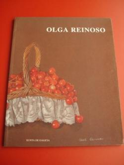 Ver os detalles de:  OLGA REINOSO. Catálogo Exposición Casa da Parra, Santiago de Compostela, 1993