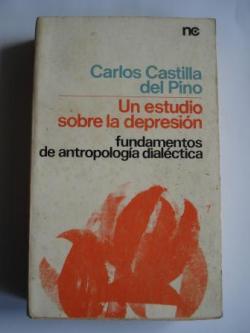 Ver os detalles de:  Un estudio sobre la depresión. Fundamentos de antropología dialéctica