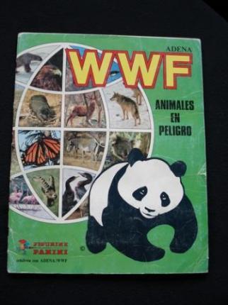 WWF Animales en peligro. Álbum de cromos - Ver os detalles do produto