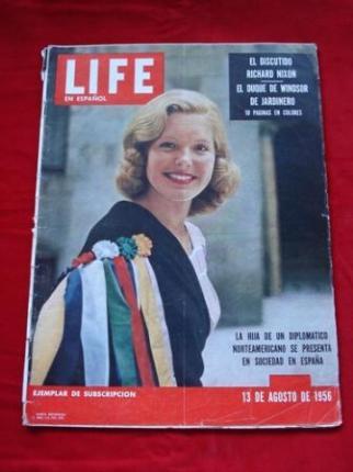 Revista LIFE en español. 13/08/1956 - Ver os detalles do produto