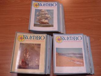 Revista RUMBO. Publicación mensual. Revista del mar y de los barcos (67 números). Números 1 al 82. Años 1948 a 1955. Faltan los números: 9 - 16- 17- 18- 21- 31- 36 - 37 - 38 - 39 - 40 - 41- 42 - 74 - 76) - Ver os detalles do produto