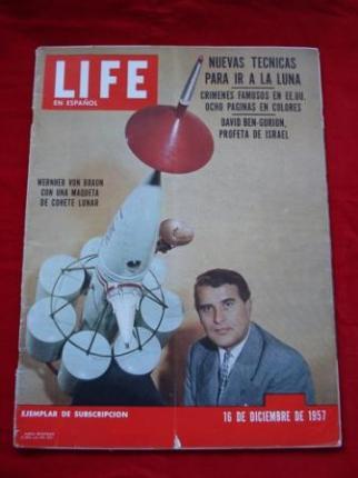 Revista LIFE en español. 16/12/1957 - Ver os detalles do produto
