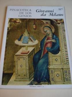Ver os detalles de:  Giovanni da Milano. Pinacoteca de los genios, Nº 117