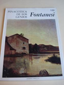 Ver os detalles de:  Antonio Fontanesi. Pinacoteca de los genios, Nº 120