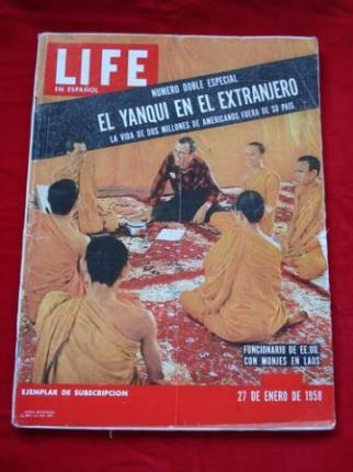 Revista LIFE en español. 27/01/1958. NÚMERO DOBLE ESPECIAL - Ver os detalles do produto
