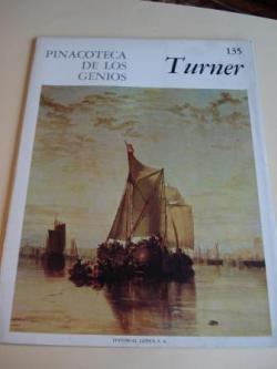 Ver os detalles de:  Joseph Turner. Pinacoteca de los genios, Nº 135 (Traducción de Marcial Suárez)