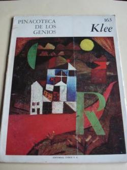 Ver os detalles de:  Paul Klee. Pinacoteca de los genios, Nº 163 (Texto de Luis Seoane: Enfoque de actualidad)