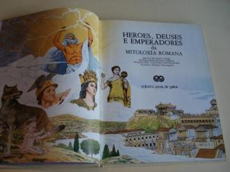 Heroes, deuses e emperadores da mitiloxía romana (Tradución: Colectivo Ancoradoiro) - Ver os detalles do produto