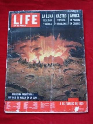Revista LIFE en español. 09-02-1959. Castro y Cuba celebran la caída del tirano: reportaje de 12 páginas profusamente ilustrado. - Ver os detalles do produto