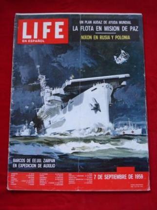Revista LIFE en español. 07/09/1959 - Ver os detalles do produto