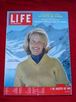 Revista LIFE en español. 07/08/1961 - Ver os detalles do produto
