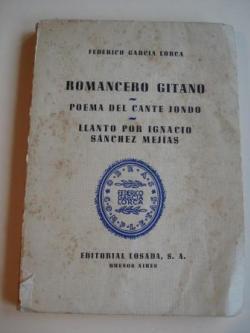 Ver os detalles de:  Romancero gitano - Poema del cante jondo - Llanto por Ignacio Sánchez Mejías