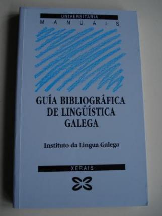 Guía bibliográfica de lingüística galega - Ver os detalles do produto