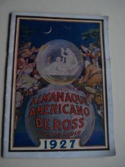 Ver os detalles de:  Almanaque americano de Ross con oráculo 1927. Edición para España
