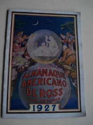 Almanaque americano de Ross con oráculo 1927. Edición para España - Ver os detalles do produto