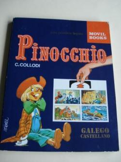 Ver os detalles de:  Pinocchio. Para practicar linguas. Galego-Castellano. Libro con sistema NABAU, con traducción alternativa instantánea