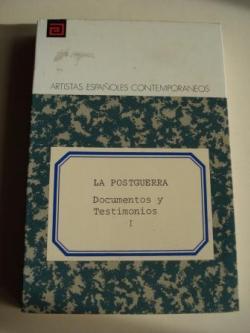 Ver os detalles de:  La postguerra. Documentos y Testimonios, Tomo I