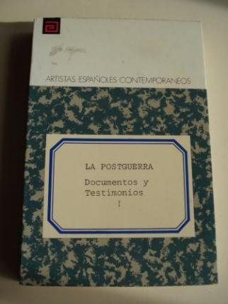 La postguerra. Documentos y Testimonios, Tomo I - Ver os detalles do produto