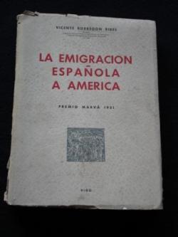 Ver os detalles de:  La emigración española a América