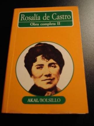 Rosalía de Castro. Obra completa II - Ver os detalles do produto