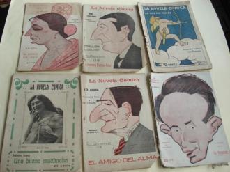 La Novela Cómica. 6 títulos (1917 a 1919) - Ver los detalles del producto