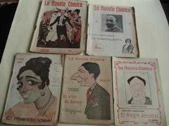 La Novela Cómica. 6 títulos (1916 a 1919) - Ver los detalles del producto