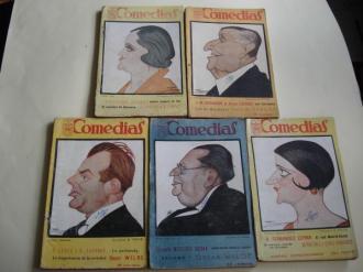 Comedias. Revista semanal. 5 ejemplares (1926 - 1927 - 1928) - Ver los detalles del producto