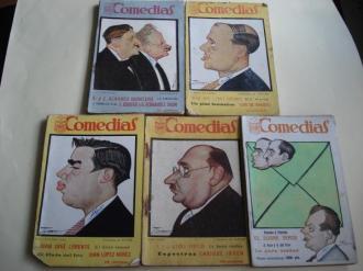 Comedias. Revista semanal. 5 ejemplares (1926 - 1927) - Ver los detalles del producto