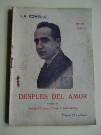 Despues del amor. La Comedia. Revista Semanal, nº 14, 20 de Septiembre 1925 - Ver los detalles del producto