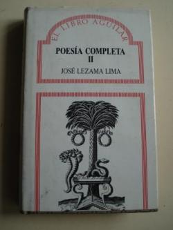 Ver os detalles de:  Poesía completa. Volumen II