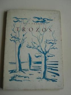 Ver os detalles de:  Trozos (Texto en español). Prólogo de Ramón Cabanillas
